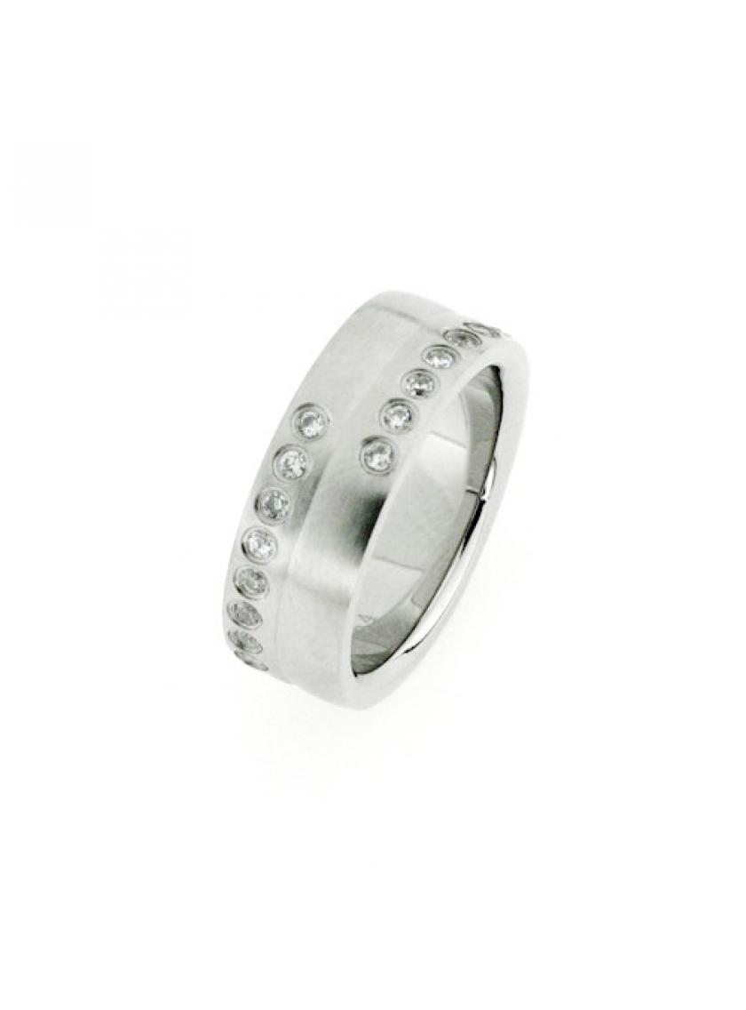 Prsten z chirurgické oceli PATTIC PSTR53401