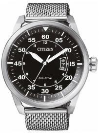Pánské hodinky CITIZEN Eco Drive Mesh AW1360-55E