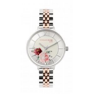 Dámské hodinky JVD Sunday Rose Spirit Bicolor SUN-S12