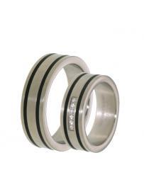 Titanový snubní prsten PATTIC PSTIR45301