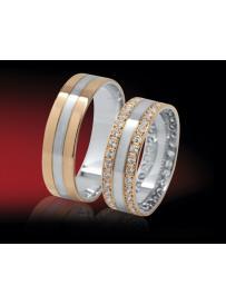 Snubní prsteny RETOFY 43/DK