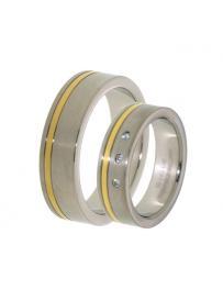 Titanový snubní prsten PATTIC PSTIR52101
