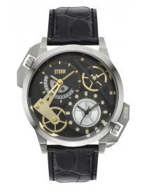 Pánské hodinky STORM Dualon Leather BK 47147/BK/BK