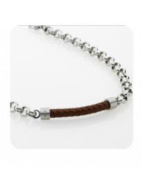Náhrdelník STORM Baxter Necklace - Brown 9980621/BR