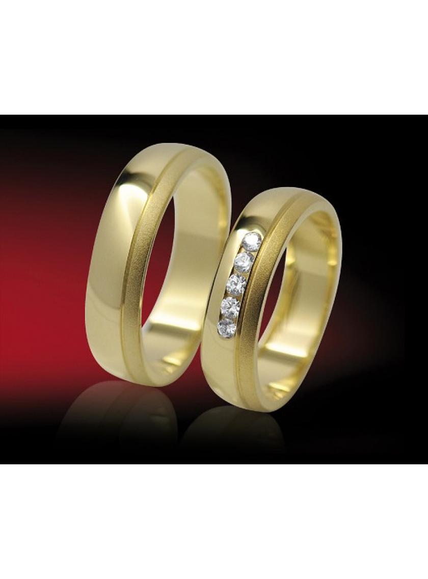 Snubní prsteny RETOFY 9/D