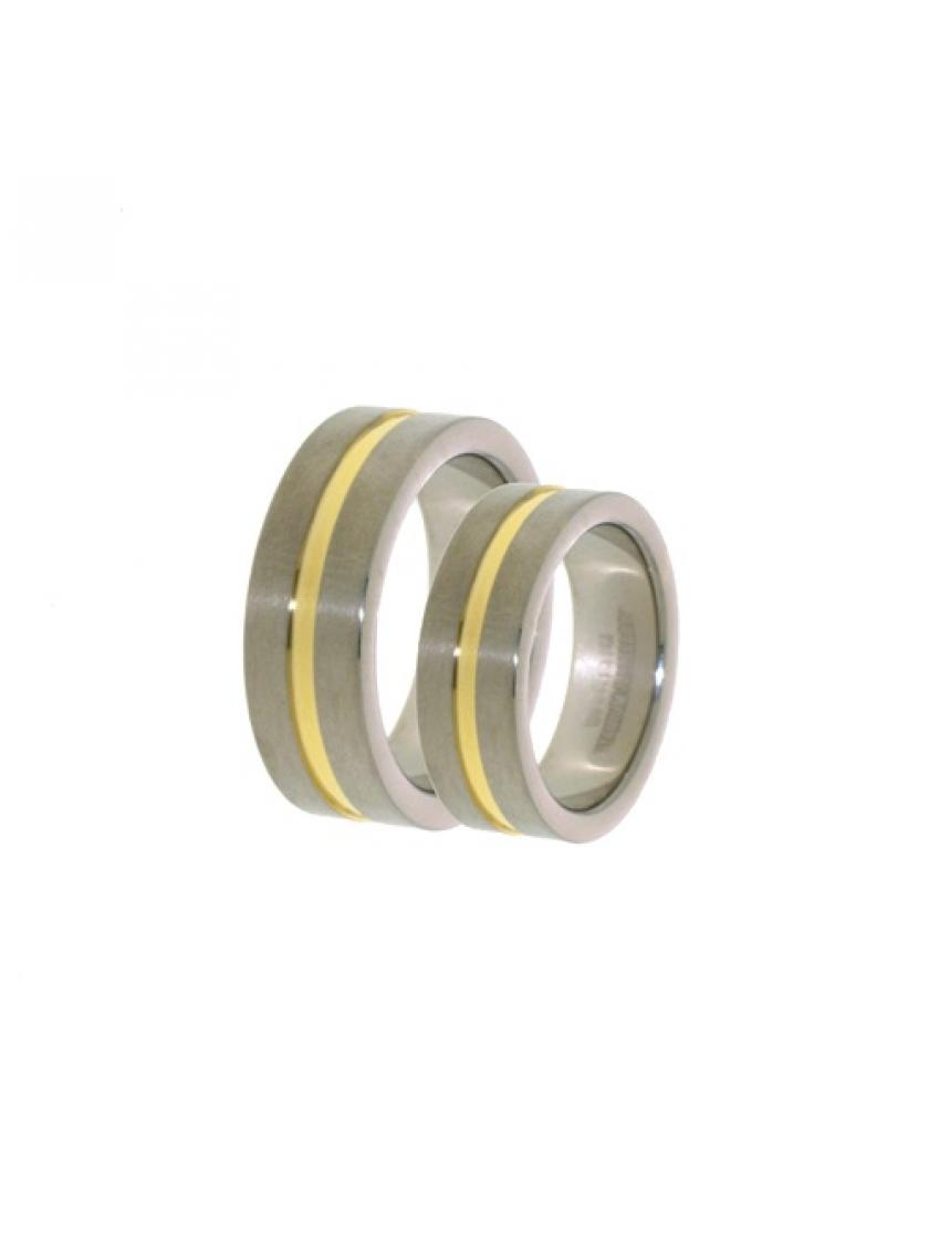 Titanový snubní prsten PATTIC PSTIR06301