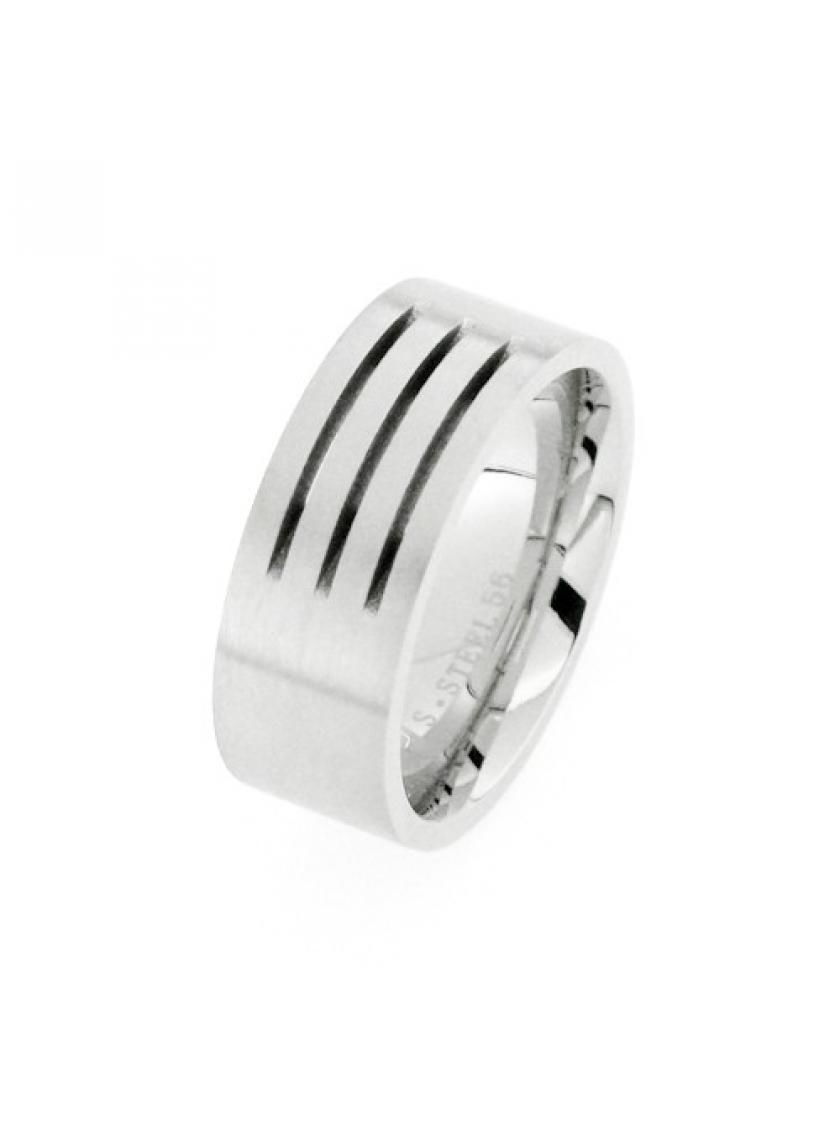 Prsten z chirurgické oceli PATTIC PSTR21401