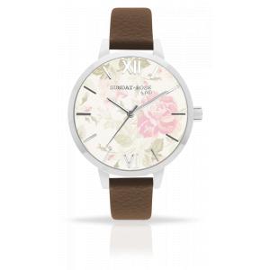 Dámské hodinky JVD Sunday Rose Vintage SUN-A01
