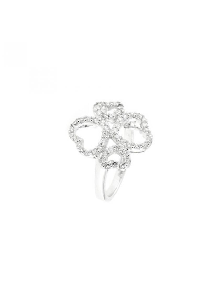 Stříbrný prsten PATTIC s kameny OZ37501A