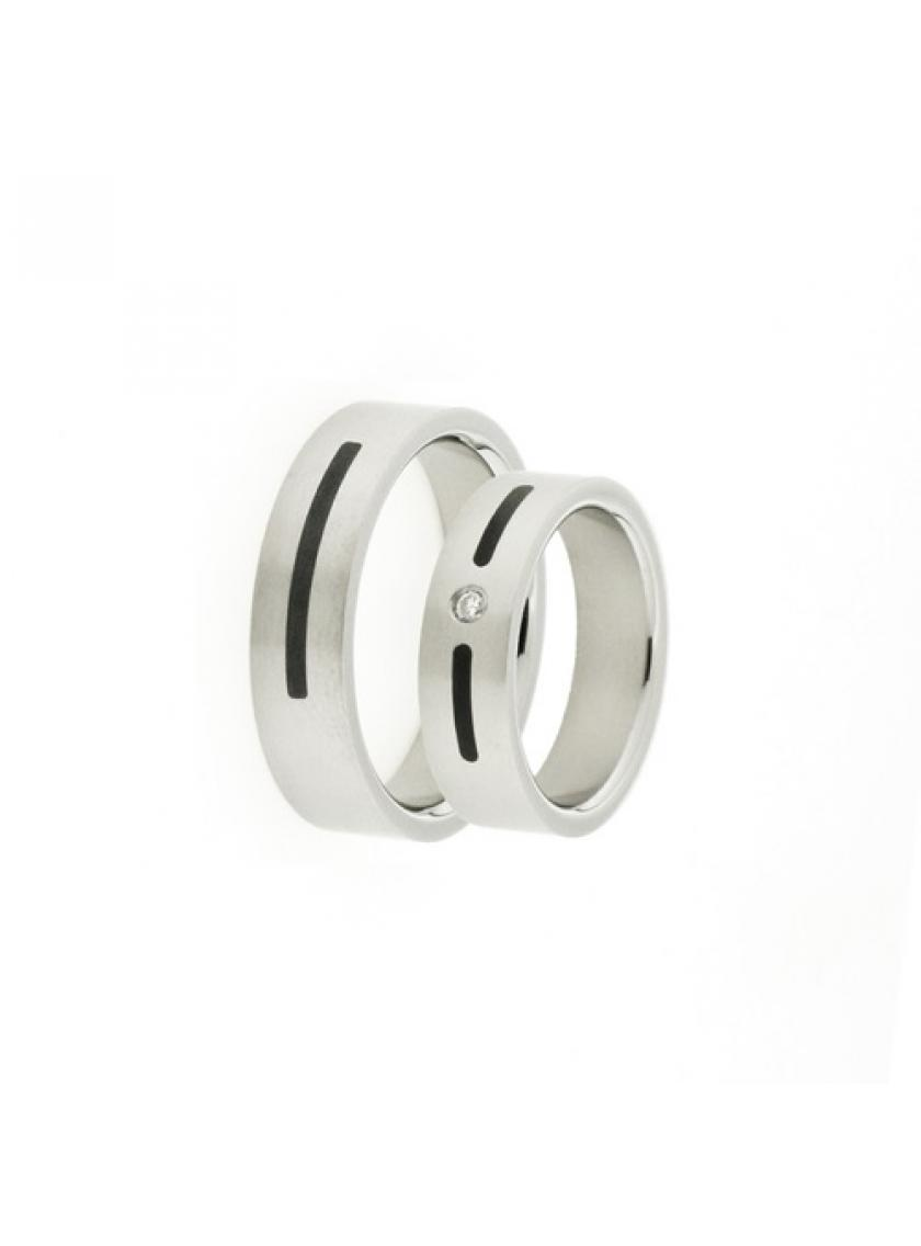 Titanový snubní prsten PATTIC PSTIR51101