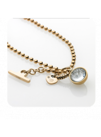 Náhrdelník STORM Crysta Ball Necklace Gold 9980645/GD