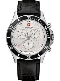 Pánské hodinky SWISS MILITARY Hanova Flagship Chrono 4183.04.001.07