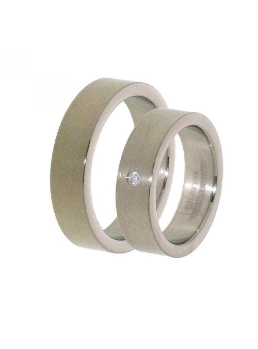 Titanový snubní prsten PATTIC PSTIR42501