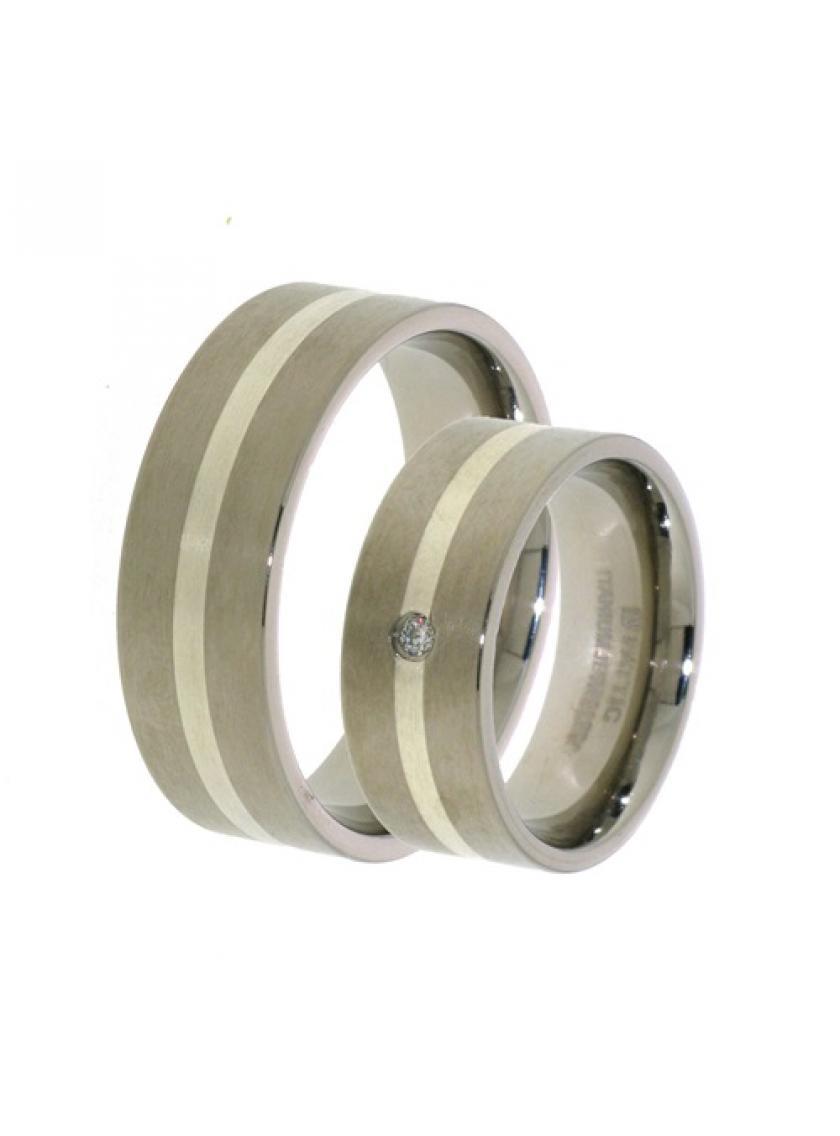 Titanový snubní prsten PATTIC PSTIR49901