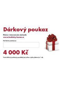 Dárkový poukaz v hodnotě 4 000 Kč