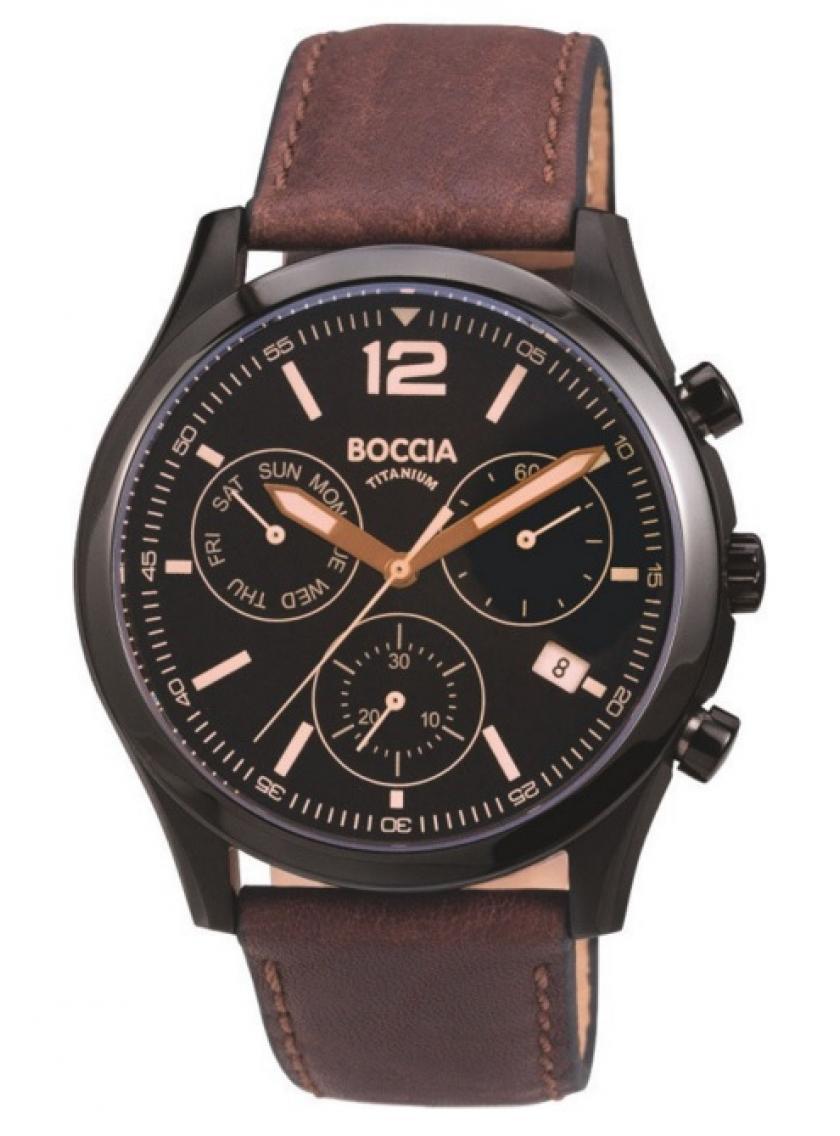 Pánské hodinky BOCCIA TITANIUM 3757-02 d7b869cd24