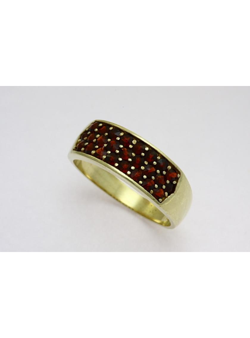 Zlatý prsten AU 585/1000 7;05gr SOLUNA 1-227-0078