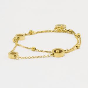 Dámský náramek STORM Rumi-X Bracelet - Gold 9980801/GD
