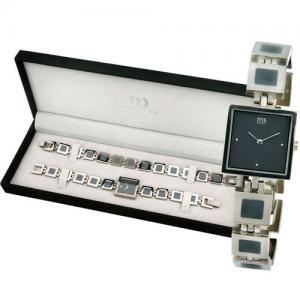 Dámské dárková sada hodinek a náramku IV64Q696 Danish Design