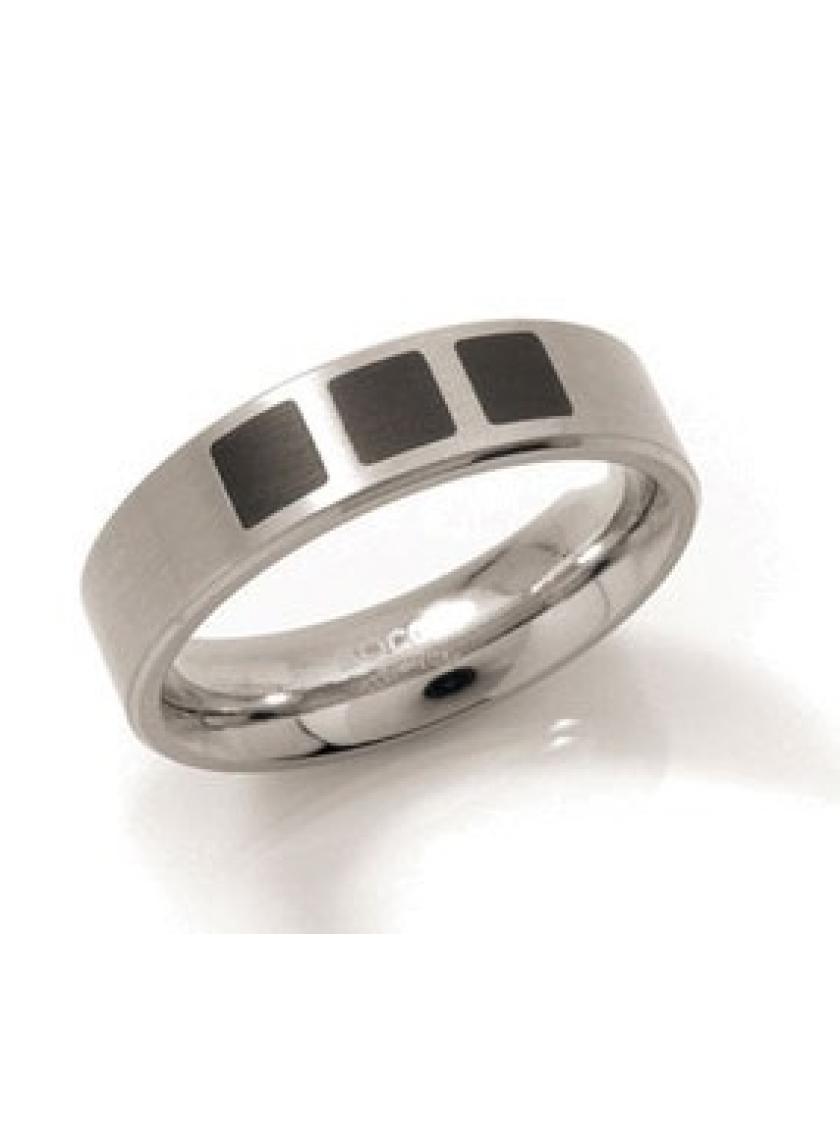 Snubní titanový prsten BOCCIA 0101-15