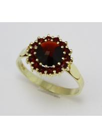 Zlatý prsten AU 585/000 3;5gr SOLUNA 1-227-0033