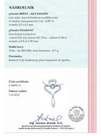 Řetízek AU 585/1000 dia 4.71gr OPTIMA DIAMANT JO1889902