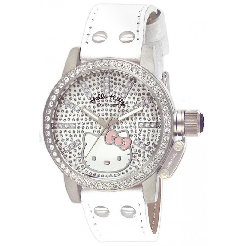 Dámské hodinky HELLO KITTY JHK114-631