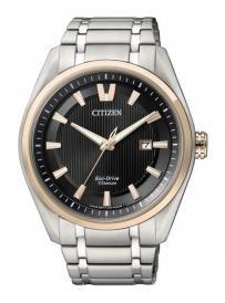 Pánské hodinky CITIZEN Eco Drive Super Titanium AW1244-56E