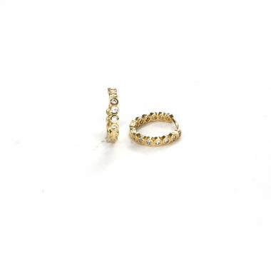 Náušnice ze žlutého zlata Pattic AU 585/000 2,15 gr ARP635304
