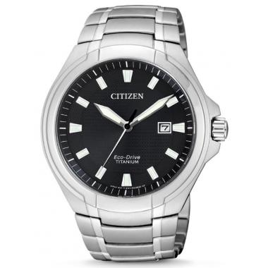Pánské hodinky CITIZEN Titanium Eco-Drive BM7430-89E