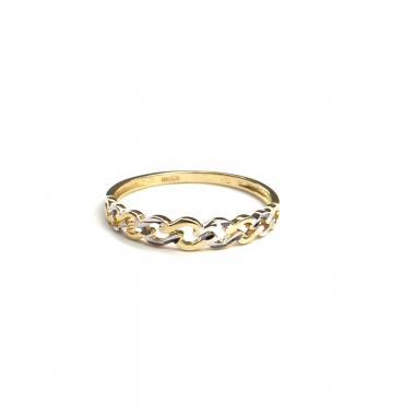 Prsten z dvoubarevného zlata PATTIC AU 585/000 1,1 gr, ARP650201-53