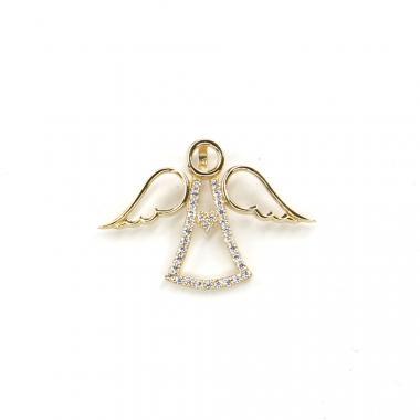 Přívěs ze žlutého zlata anděl Pattic AU 585/000 1,35 gr LMG1205Y