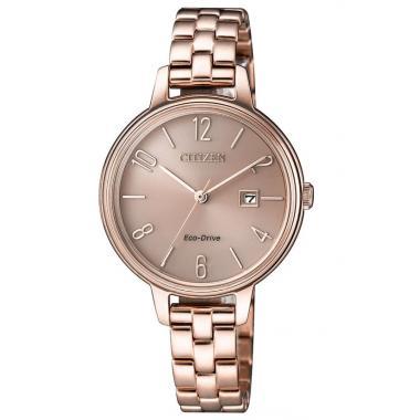 Dámske hodinky CITIZEN Elegance Eco-Drive EW2443-80X