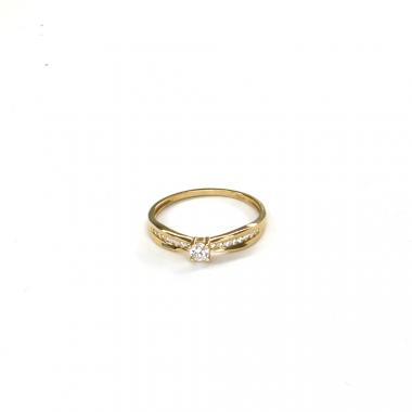 Prsten ze žlutého zlata Pattic AU 585/000 1,85 gr ARP031801Y-62