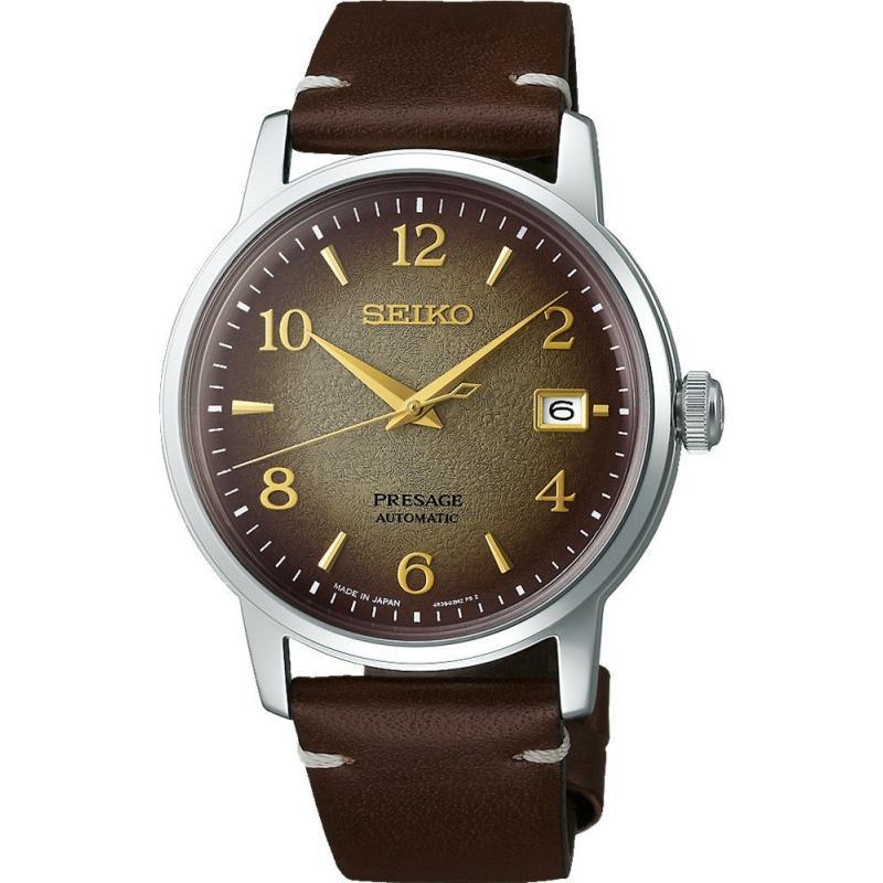 Pánské hodinky SEIKO Presage Automatic Cocktail Time Star Bar