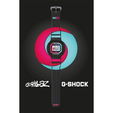 Hodinky G-SHOCK CASIO Original Gorillaz Limited Edition GW-B5600GZ-1ER