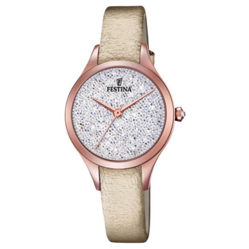 Dámské hodinky FESTINA Swarovski 20411/1