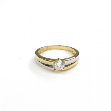Prsten ze žlutého zlata a zirkonem Pattic AU 585/000 2,10 gr GURDC0121550001-55