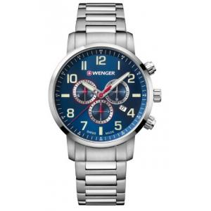 Pánské hodinky WENGER Attitude Chrono 01.1543.101