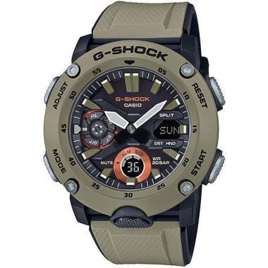 Pánské hodinky CASIO G-SHOCK Original Carbon Core Guard GA-2000-5AER