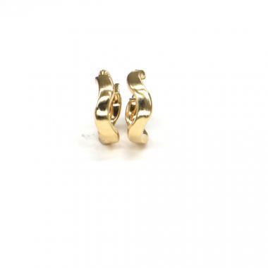 Náušnice ze žlutého zlata Pattic AU 585/000 1,00 gr ARP117304Y