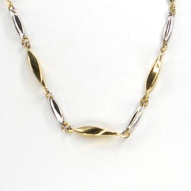 Náhrdelník ze zlata Pattic bicolor AU585/000 5,95g ARP211302