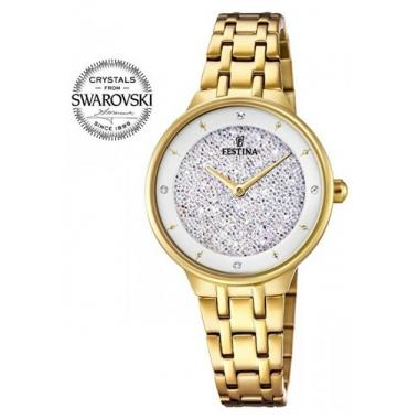 Dámské hodinky FESTINA Swarovski 20383/1