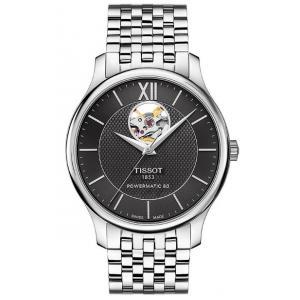 Pánské hodinky TISSOT Tradition Automatic Open Heart T063.907.11.058.00