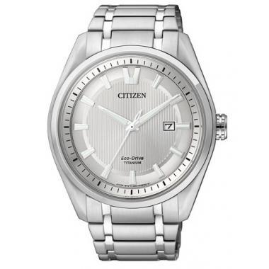 Pánské hodinky CITIZEN Titanium Eco-Drive AW1240-57A