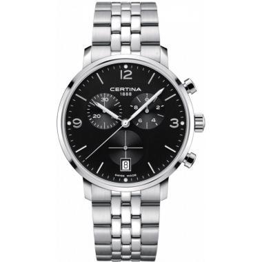 Hodinky Certina DS Caimano Chronograph Quartz Precidrive C035.417.11.057.00