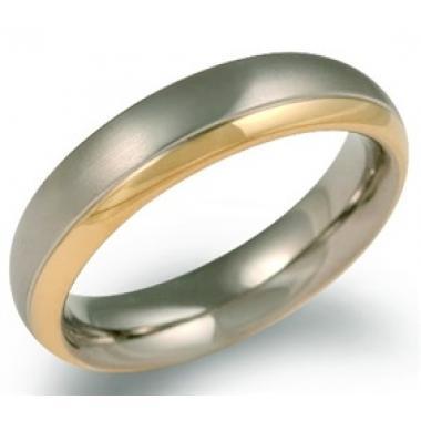 Titanový snubní prsten BOCCIA 0130-08