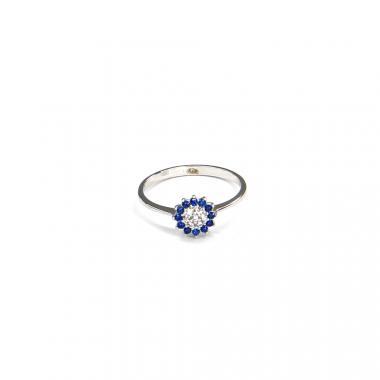 Prsten z bílého zlata Pattic AU 585/000 1,40 gr BV100301BLW-54